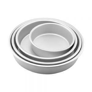 Maspion Cetakan Kue Round Pan Aluminium