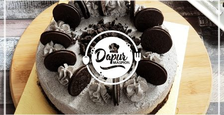 Resep Cookies and Cream Cake Dengan Maspion Round Pan Aluminium