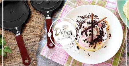 Resep Pancake Homade Lembut Dengan Maspion Mini Character Pan