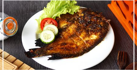 Resep Ikan Bakar Manis Madu Dengan Panggangan Deluxe Grill Series