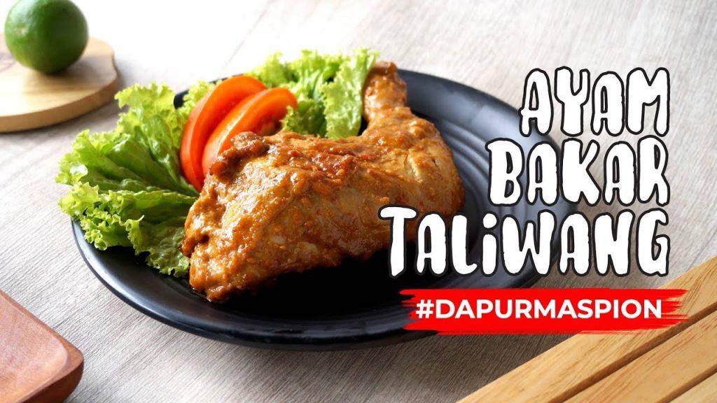 Resep Ayam Bakar Taliwang Asli Lombok Dengan Maspion Crystal Oven