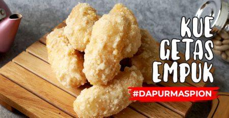 Resep Kue Getas Gemblong Empuk Dengan Wajan Maspion Chows Wok AntilengkeT