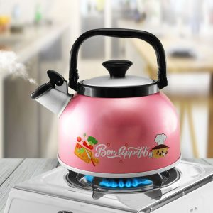 Rigoletto Anodize Spring Stylish Whistling Kettle
