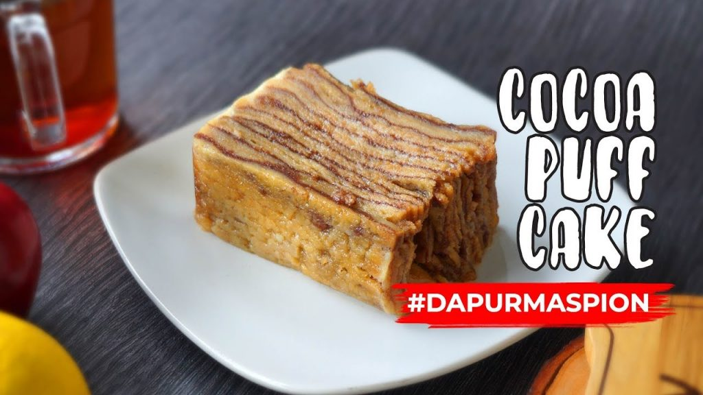 Resep Cocoa Puff Cake Kukus Anti Gagal  Dengan Maspion Pancaguna Colan