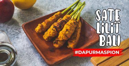 Resep Sate Lilit Khas Bali Dengan Maspion Fancy Grill