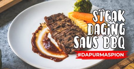 Resep Steak Daging Saus BBQ with Maspion Yasuki Grill Pan
