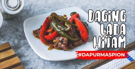 Resep Daging Lada Hitam dengan Maspion Wajan Chow's Wok Double Handle