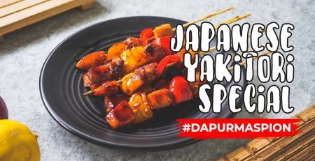 Resep Japanese Yakitori Dengan Maspion Korean Hot Grill